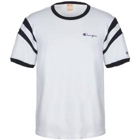 《期間限定セール開催中!》CHAMPION メンズ T シャツ ホワイト S コットン 100%