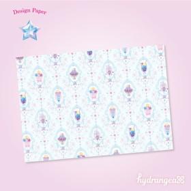 【Sweet Star-sweets-】A4サイズ デザインペーパー