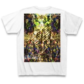 有効的異常症候群風雷弐◆アート文字◆ロゴ◆ヘビーウェイト◆半袖◆Tシャツ◆ホワイト◆各サイズ選択可