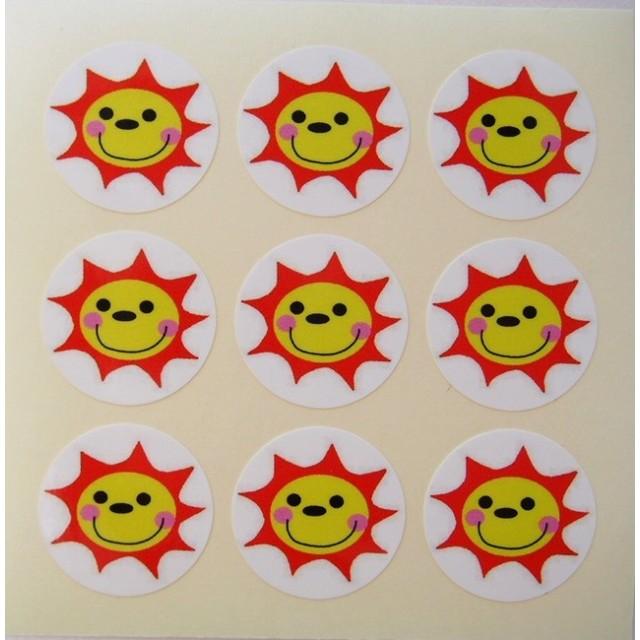 太陽マークシール 耐水性