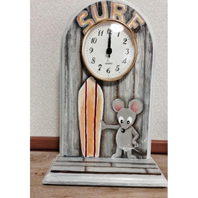 フッキーの置時計