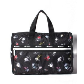 【SALE開催中】【LeSportsac:バッグ】MEDIUM WEEKENDER/BT21 BLACK