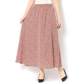 【テチチ/Te chichi】 花柄プリントスカート