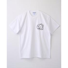 太陽と月Tシャツ ホワイト