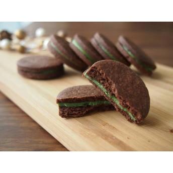 8枚入り 京抹茶のチョコサンドクッキー