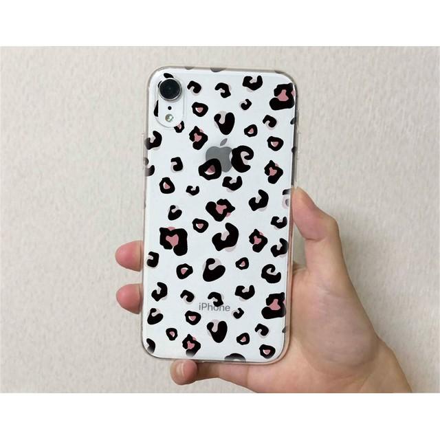 iPhone11 iPhone11 Pro iPhone11 Pro Max iPhone8 iPhoneXS 全機種対応☆クリアケース TPUケース クリアケース アニマル柄 ジャガー