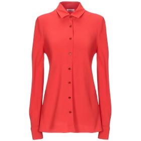 《セール開催中》ROSETTA GETTY レディース シャツ 赤茶色 6 アセテート 82% / レーヨン 18%