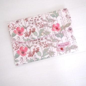 リバティ 母子手帳ケース イルマ/ピンク X18 B6サイズ パスポートケース