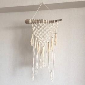 マクラメ編み タペストリー