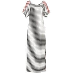 《セール開催中》GARAGE NOUVEAU レディース ロングワンピース&ドレス ホワイト 2 コットン 100%
