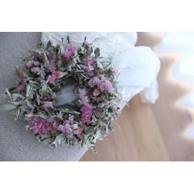 dry wreath #134 [ギフト×リース×ドライフラワー]