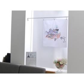 ハンカチ兼ファブリックポスター【ソウル(서울)】