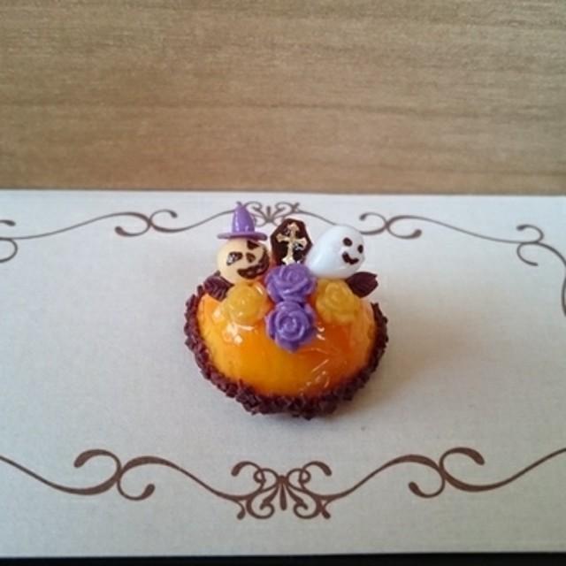 かぼちゃ ボンブケーキ2☆