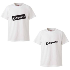 シンプル e-SPORTS Tシャツ