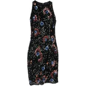 《セール開催中》FRENCH CONNECTION レディース ミニワンピース&ドレス ブラック 10 ナイロン 100%