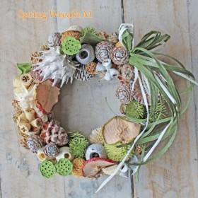 Sprig wreath M グリーン