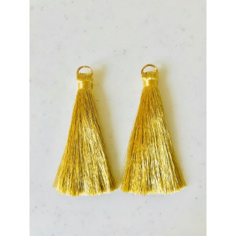 Gold 77mm Long Tassel