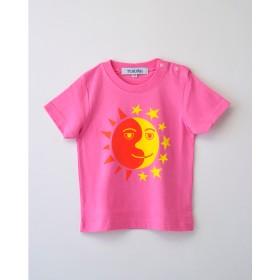 太陽と月 KIDS用Tシャツ