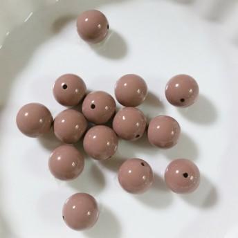 ピンクブラウン 12mm 6個セット【b4-31】