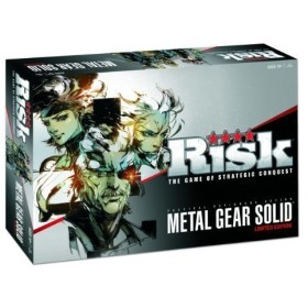 Metal Gear Solid Risk Limited Edition Individually Numbered Board Game