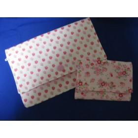 マルチケース 小さなカードケースのおまけつき 母子手帳 通帳 お薬手帳ケース