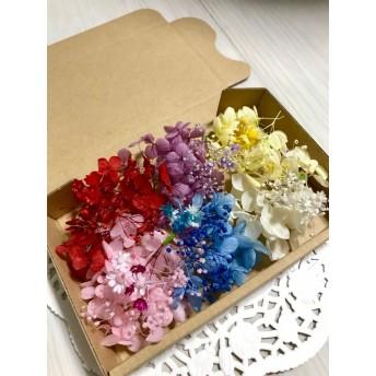 小分け花材*ハーバリウムボールペン花材レジン素材*小分け紫陽花*小分けスターフラワー