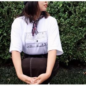 『小休止』 Tシャツ (ホワイト)