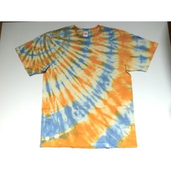 絞り染めTシャツ(送料無料)