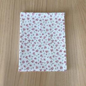 35 55 cm ランチョンマット クリーム色 赤小花柄 小学校 女の子