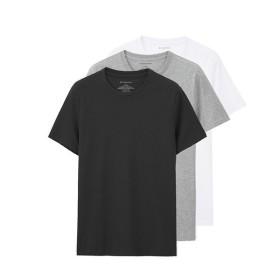 [マルイ] [GIORDANO]3PパッククルーネックTシャツ/ジョルダーノ(メンズ)(GIORDANO)