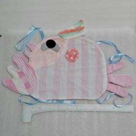 ピンク色インコのまくらカバー(枕パッド)