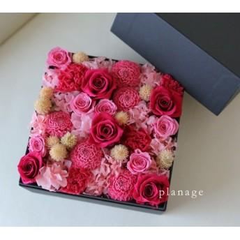 *送料無料* box flower -pink-