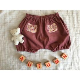 [再販] かぼちゃパンツ(モーヴ)
