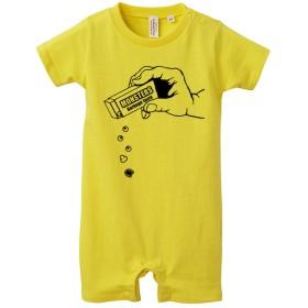 [ロンパース] Monster Parts / yellow