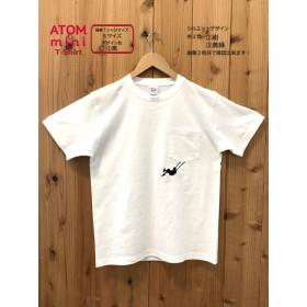 ポケット ブランコT-shirt *刺繍デザインカラー3色・TシャツサイズS~XL*
