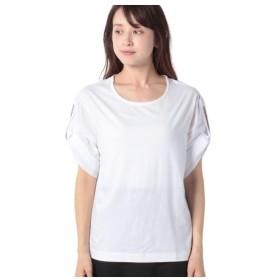 [マルイ]【セール】配色ロールアップスリーブオーバーサイズTシャツ・カットソー/ベネトン レディース(UNITED COLORS OF BENETTON)