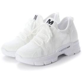 ジーアンドジー G&G レディースファッション パンプス スニーカー サンダル 靴 シューズ カジュアル (ホワイト)