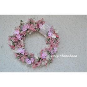桜ピンクのwreath