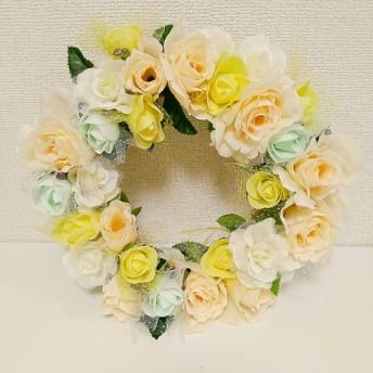 【お花のリース】ナチュラル