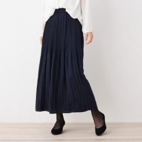 [マルイ] ヴィンテージ風サテンプリーツスカート/ハッシュアッシュ(レディス)(HusHusH Ladies)