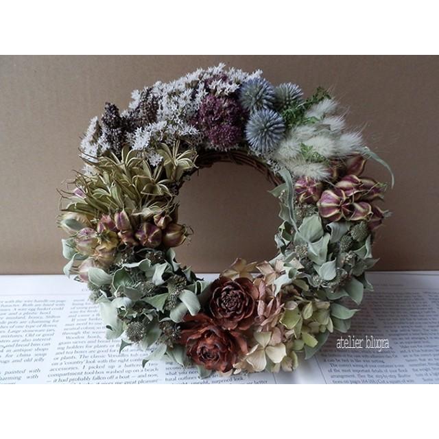 atelier blugra八ヶ岳〜ナチュラルグリーンWreath01