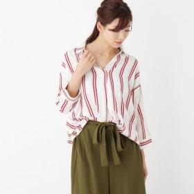 [マルイ]【セール】マルチストライプスキッパーシャツ/キューティーブロンド(Cutie Blonde)