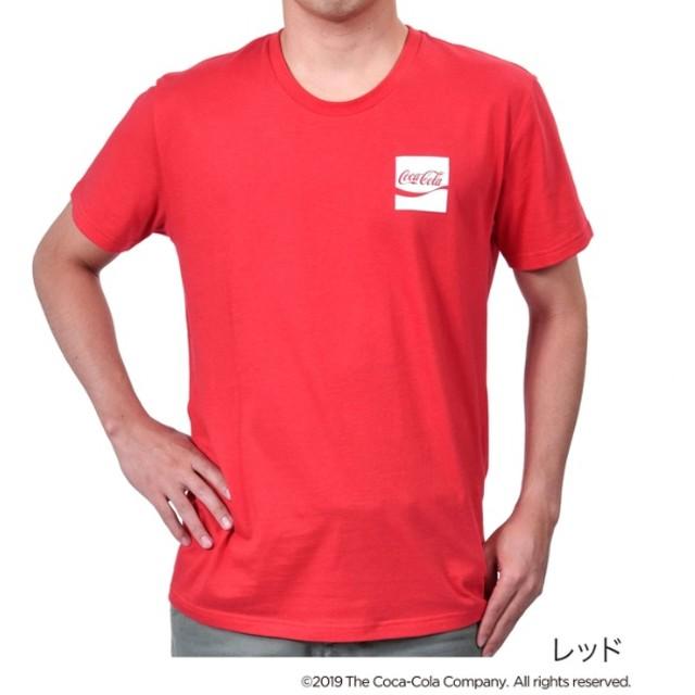 [マルイ]【セール】メンズ 「Coca-Cola(コカ・コーラ)」 ワンポイントロゴ クルーネック 半袖Tシャツ/コカ・コーラ (メンズ)(Coca Cola)