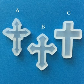 十字架A シリコンモールド/型番458-A