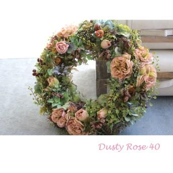 Dusty Rose Wreath 40