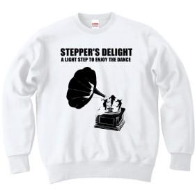 [カジュアルスウェット] STEPPER S DELIGHT / white