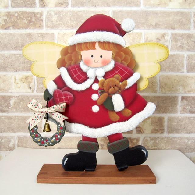 クリスマス 見習いサンタの女の子 スタンド