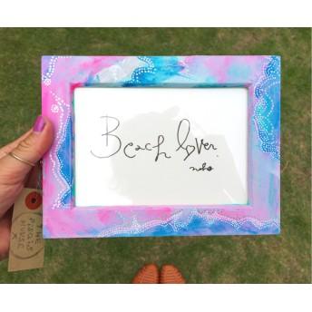 Beach lover photo frame