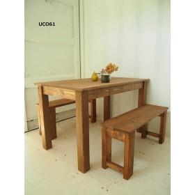 ダイニングテーブル【1500×700】(ダーク)