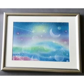 「星降る海」原画